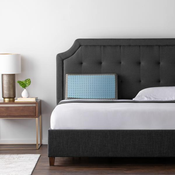 CarbonCool Pillow On Bed